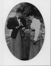 Mabel Clapp Lord and Mary Baker Strong 1897, geology field trip 1896