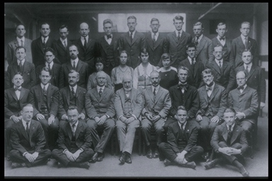 MIT Physics Department 1920-21
